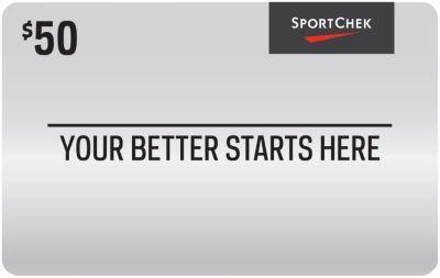 #StaplesCanada: $40.00 or 20% Off: $40 $50 Sport Chek Gift Card http://www.lavahotdeals.com/ca/cheap/40-50-sport-chek-gift-card/86694