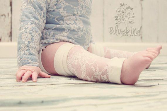 lace leg warmers!