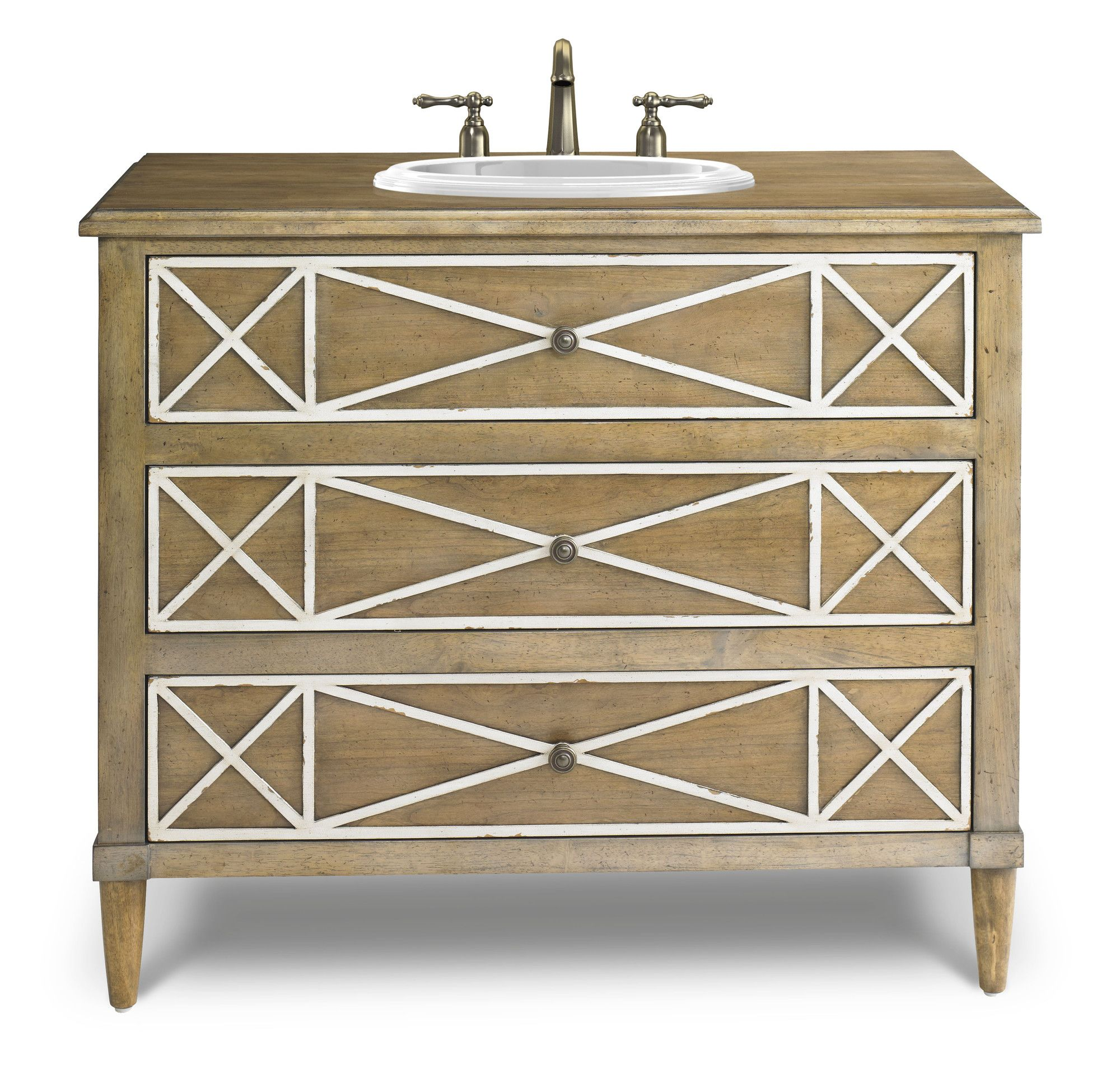 Discount Kitchen Cabinets Seattle: Genevieve 41 Inch Chest Bathroom Vanity By Cole & Co