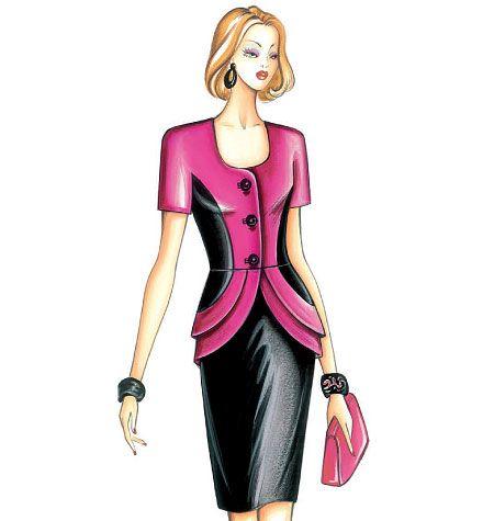 F3324 | Marfy Jacket | Jackets / Vests | Butterick Patterns | Dress ...