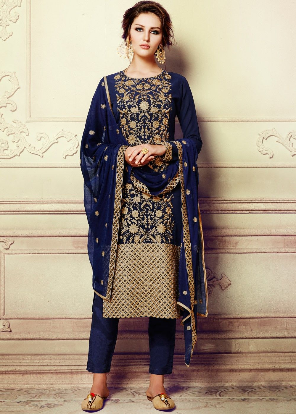 Party Wear Pant Suit For Girls