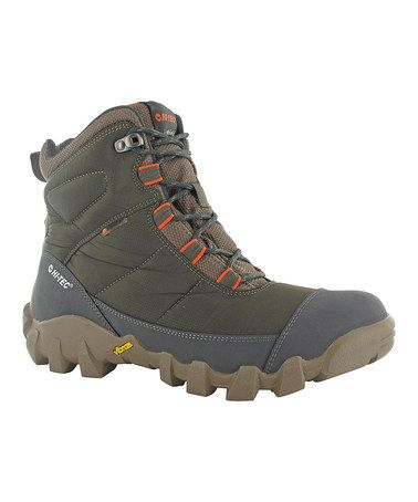 Look what I found on #zulily! Smokey Brown & Tangelo Valkerie Lite 200 Hiking Boot by Hi-Tec #zulilyfinds