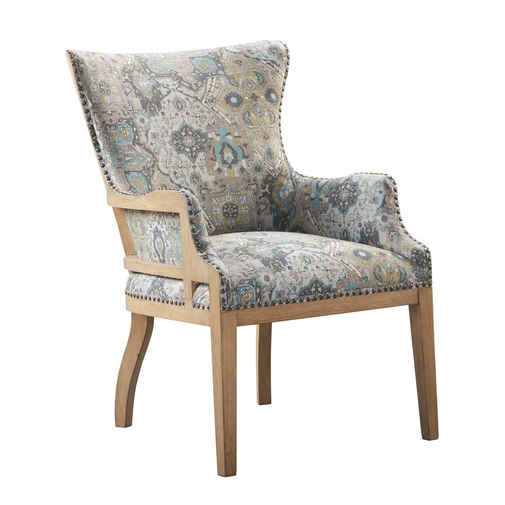 good in pairs this moroccan inspired brice accent chair will rh pinterest com