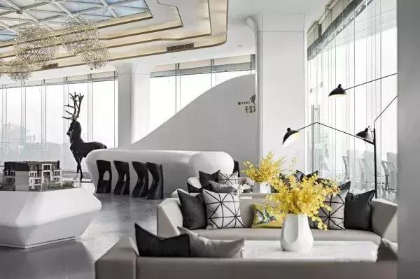 室內設計 他們設計的售樓中心 總是滿滿的藝術格調 每日頭條 In 2020 Home Home Decor Decor