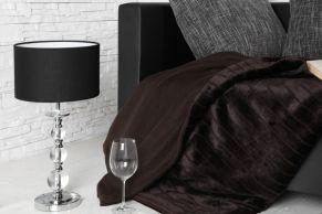 Außergewöhnliche Tischlampe Allure Schwarz Außergewöhnliche