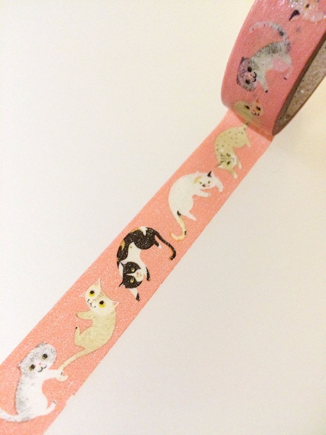 Japanese cat washi tape in 2020 with images washi tape
