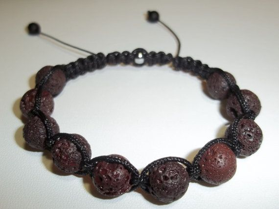 Hey, I found this really awesome Etsy listing at https://www.etsy.com/listing/121484385/mens-lava-shamballa-beaded-adjustable