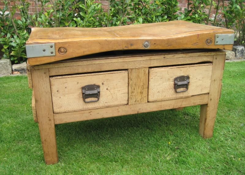 I Really Love An Old Fashioned Butchers Block There S Something About It That Just Screams Country Kitchen