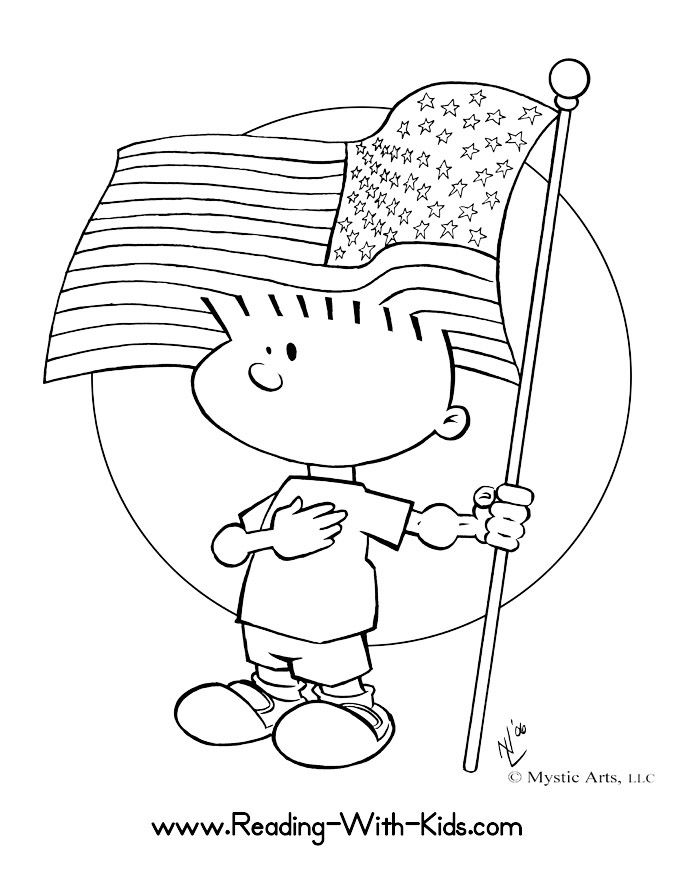 Free Fourth of July coloring pages and learning activities | Lonely ...
