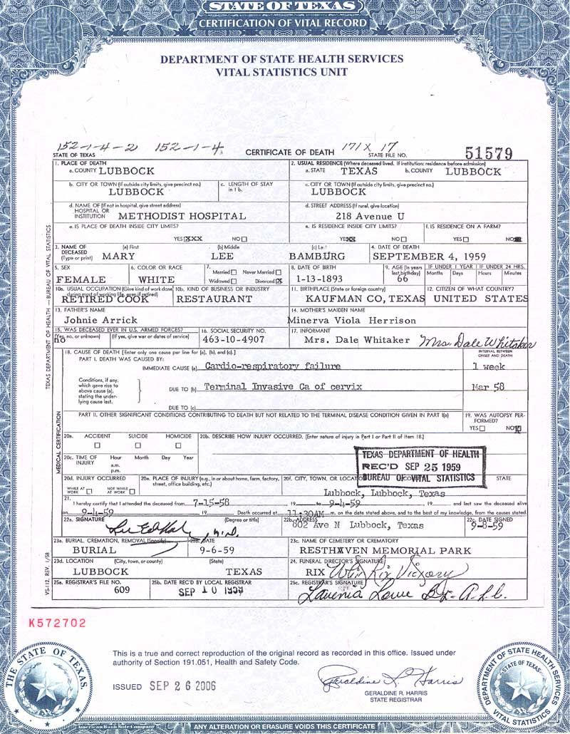 San Francisco Birth Certificate Template  Templates