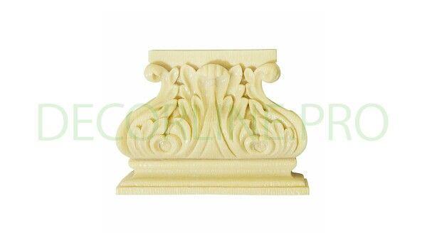 Кронштейны из полимера, полиуретана PK-12 Размер/Size: 106x140x41. Резной декор из древесной пасты, древесной пульпы, полимера, полиуретана, ППУ, МДФ, прессованный декор, декор из массива, декор из дерева