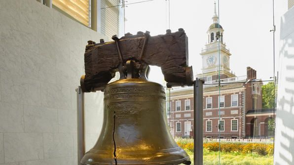 Take A Tour To See The 2 080 Pound Liberty Bell In Philadelphia A Group Of Abolitionists Adopted The Bible National Parks Liberty Bell Abolishment Of Slavery