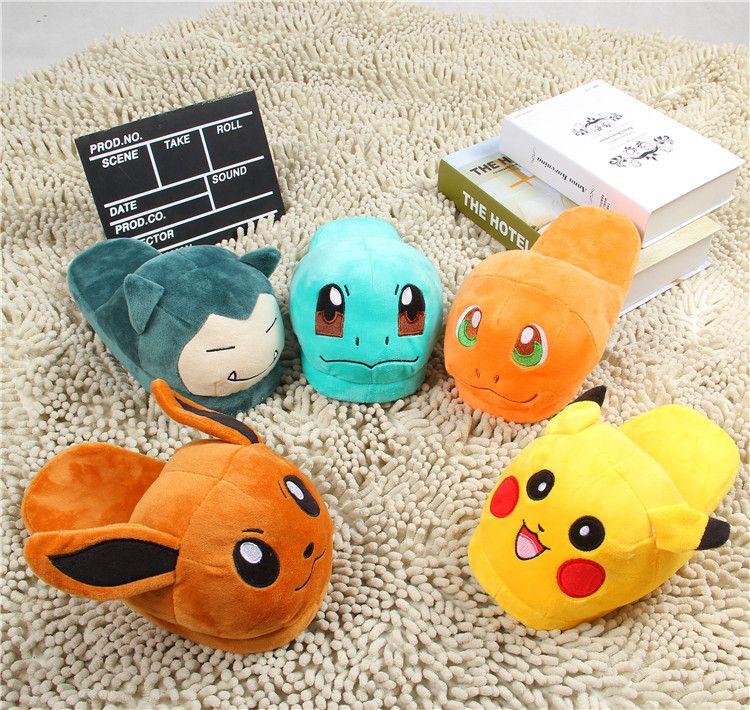 Photo of Pokémon Plush Slippers – Tokyo Depot