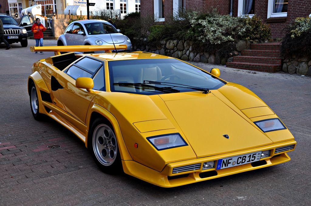 Lamborghini Countach 5000 Quattrovalvole This Body Style Looks Good