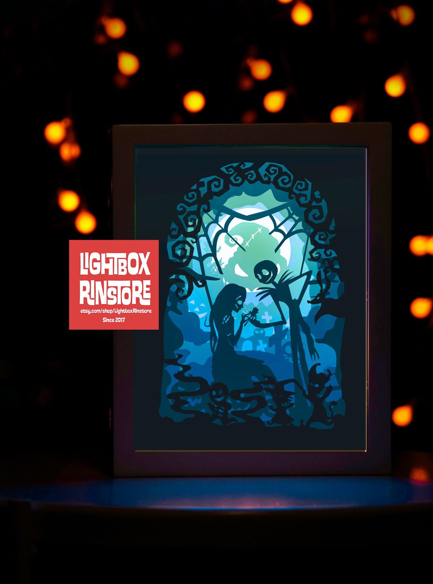 3d shadow box image by Nicerica on Crafts Christmas