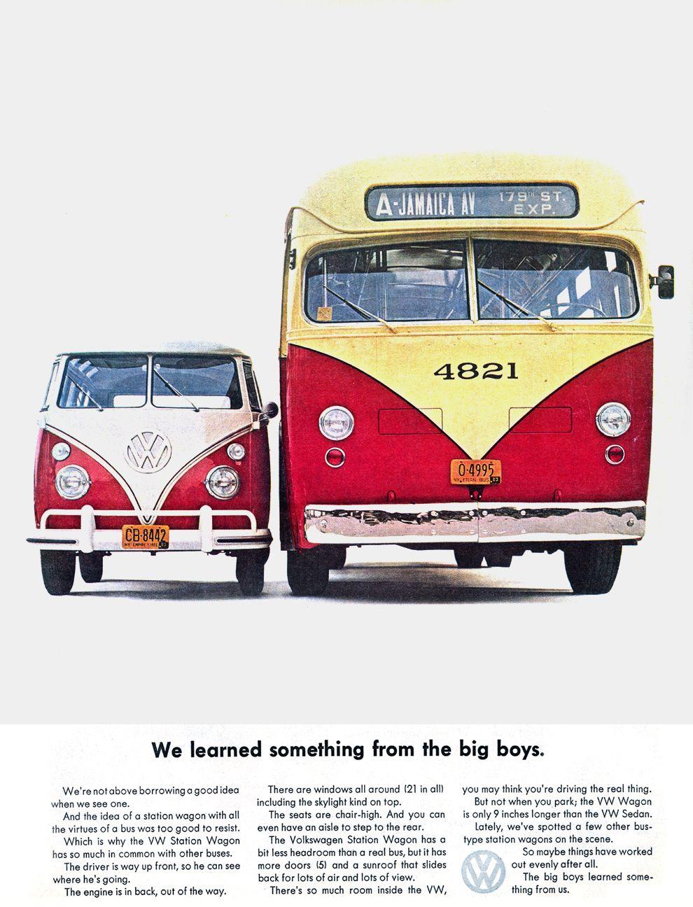 1963 VW bus, ads, 60's Fashion..., 60s, 60´s, eyes, retro, history, women, men, fashion, blog, hair styles