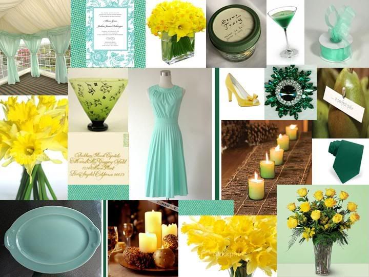 Hunter Green And Seafoam Lots Of Yellow Dont Know If You Like The Though