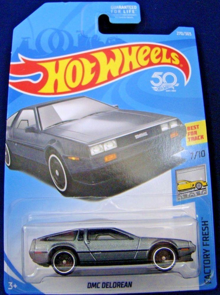 Hot Wheels DMC DeLorean 2018 nouveau