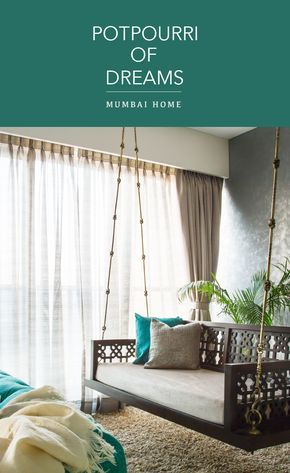 Gorgeous mix of themes in  mumbai family home also interior design with indoor swing rh pinterest