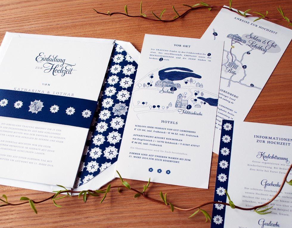 Hochzeitseinladung Mit Schöner Wegbeschreibung Von HONEYBIRD U2013 Fine  Letterpress Cards Im Weddingstyle Hochzeitsblog