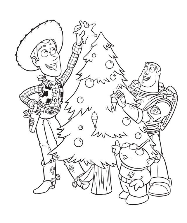 Photo Only Disney Coloring Pages Toy Story Coloring Pages Christmas Coloring Sheets