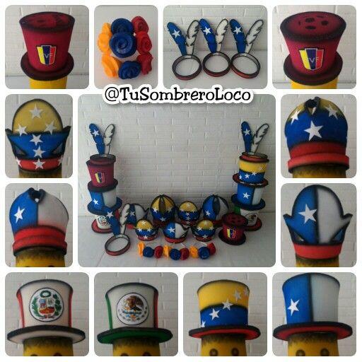 4f576c0bdf866 Todo listo para la  horaloca de  boda en  PLC  chile  Venezuela  mexico   peru  fvf  coronas  sombreros  vinchas  fiestastematicas  eventosocial   horaloca ...