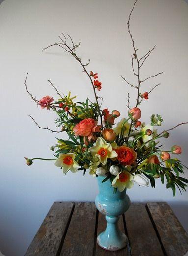 Spring mix floral arrangement including jonquils floral spring mix floral arrangement including jonquils mightylinksfo
