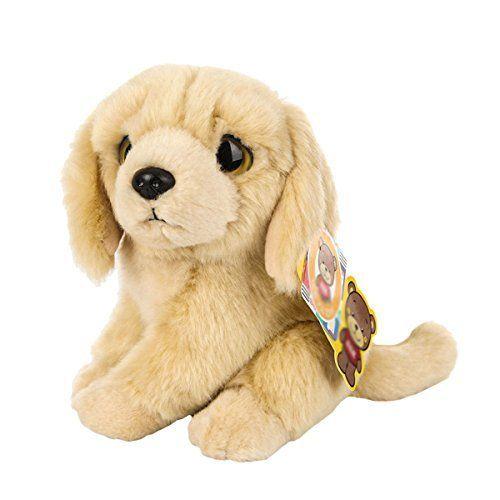 20cm Cute Emulation Golden Retriever Plush Toy Soft Stuffed Animal