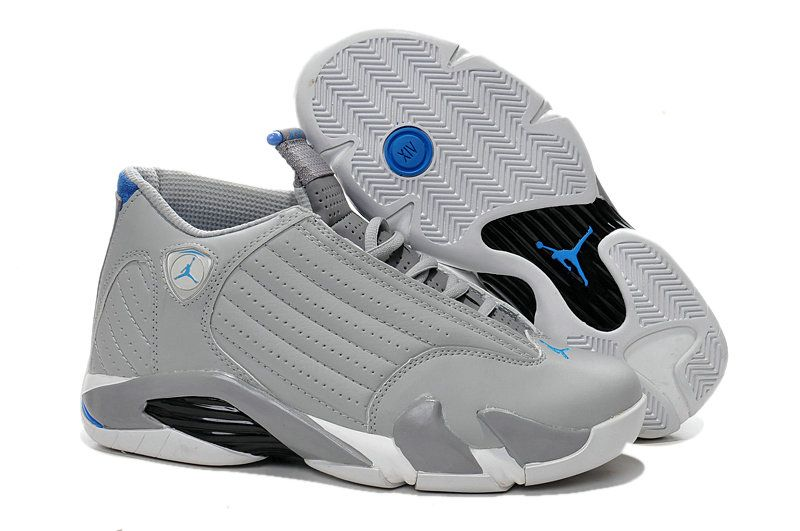 save off 038dd 7ebd7 Gray Blue Nike Air Jordans 14 Mens Basketball Shoes for Sale Big Boys  Youth Jeunesse