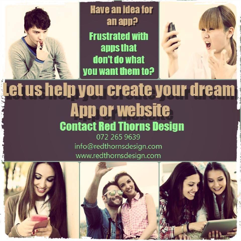 Building websites and designing apps