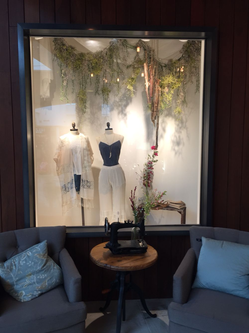 Spring 2015 Window Display at Altar'd State, West Town
