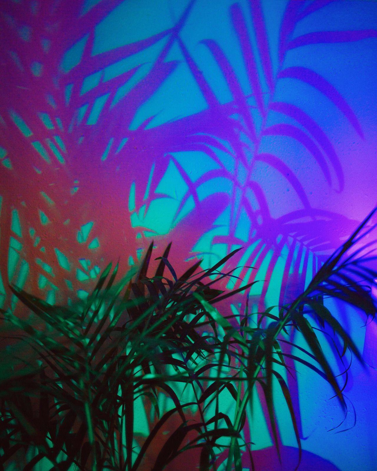 Neon Blue Aesthetic App Icons