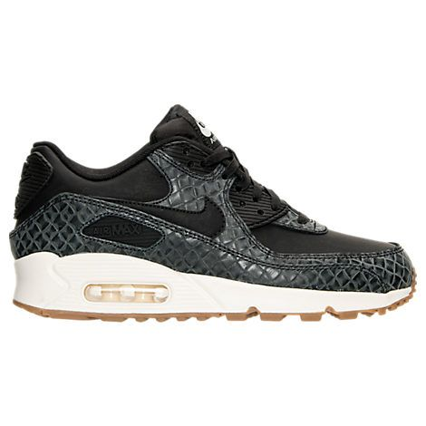 buy online f8707 c0033 Women s Nike Air Max 90 Premium Running Shoes - 443817 443817-010  Finish  Line. Find this Pin and more on ...