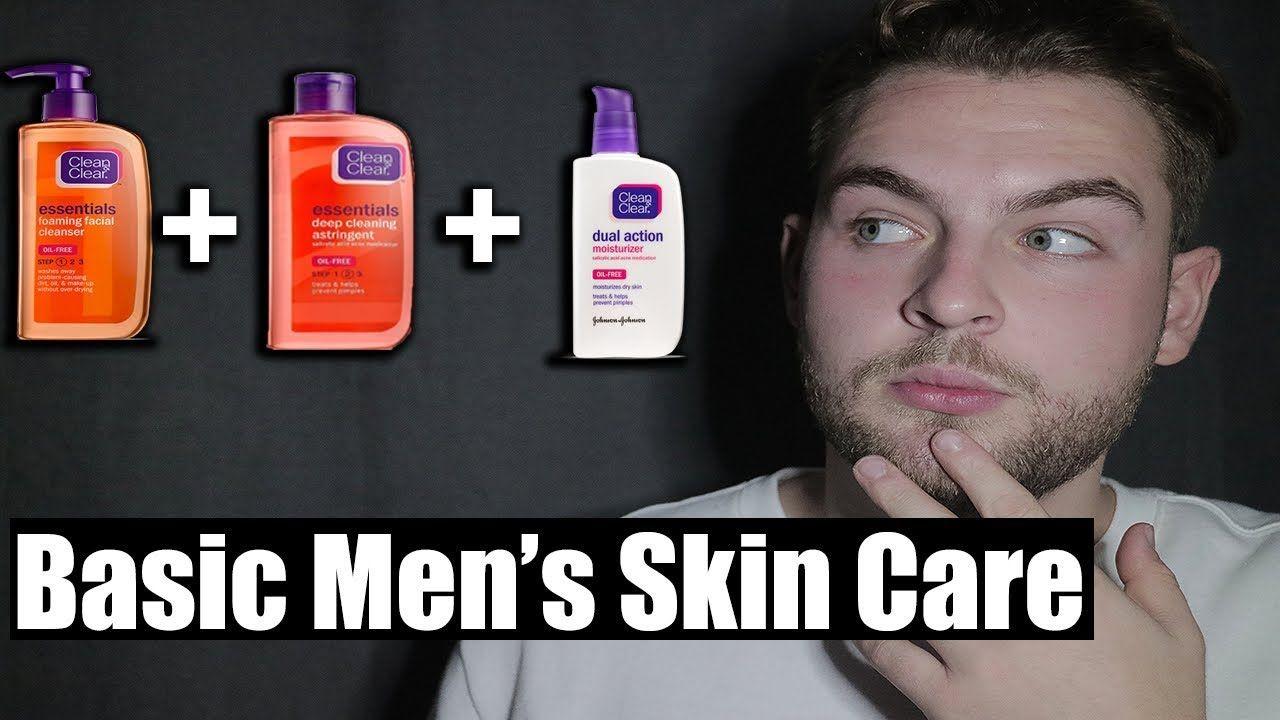 Men S Skin Care Simple Men S Skin Care Routine Face Skin Care Routine Mens Skin Care Men Skin Care Routine
