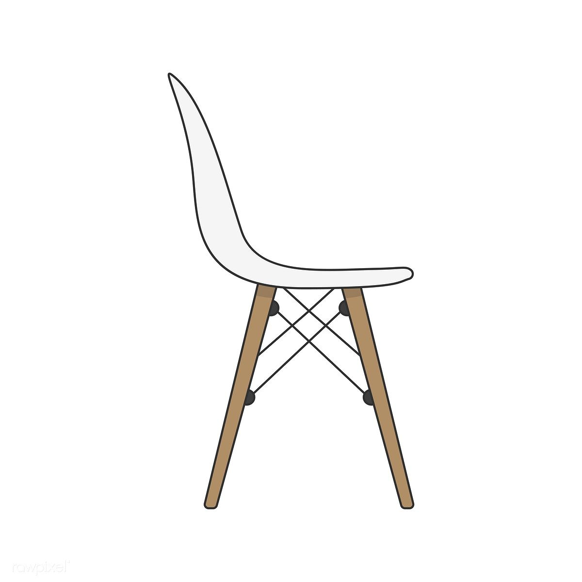 Illustration Of A Chair Free Image By Rawpixel Com Chair Feminine Wall Art Chair Style