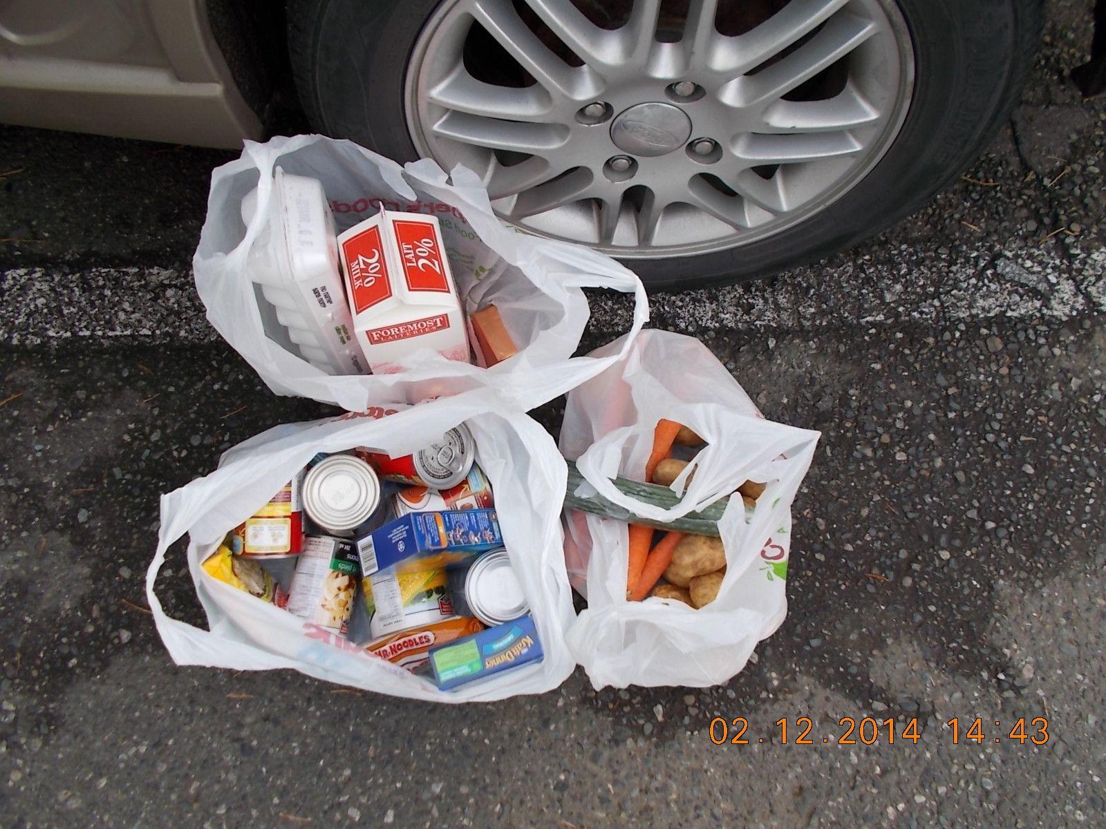 Food bank on wheels surrey food hampers food bank