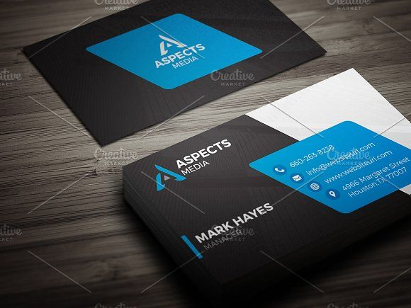 Modern business card template by made by arslan on creativemarket modern business card template by made by arslan on creativemarket wajeb Choice Image