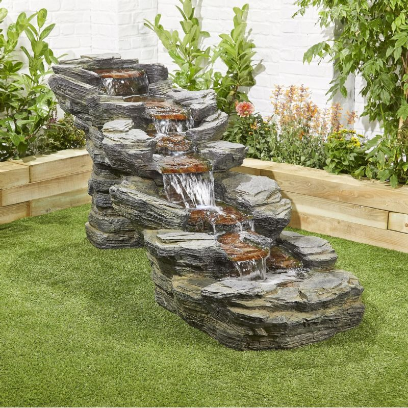 Easy Fountain Rocky Creek Water Feature | Free UK Delivery ...