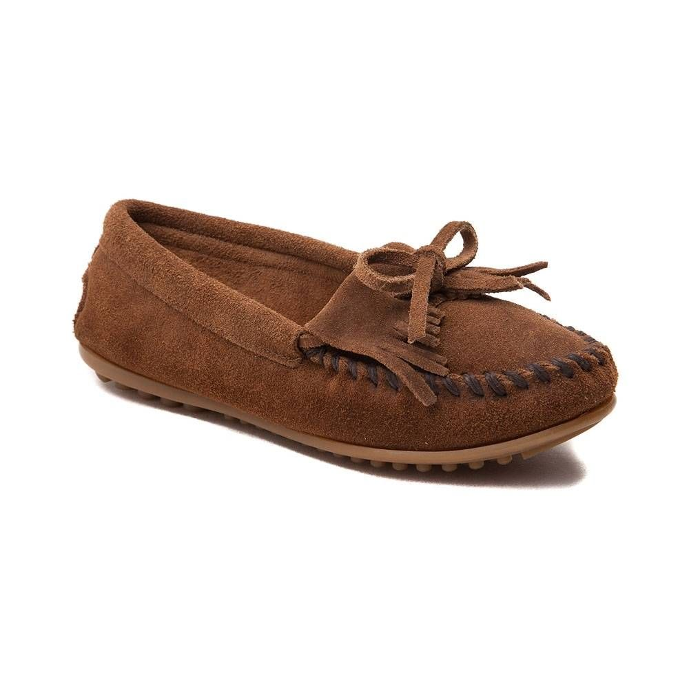 Womens Minnetonka Kilty Casual Shoe - Brown - 137125