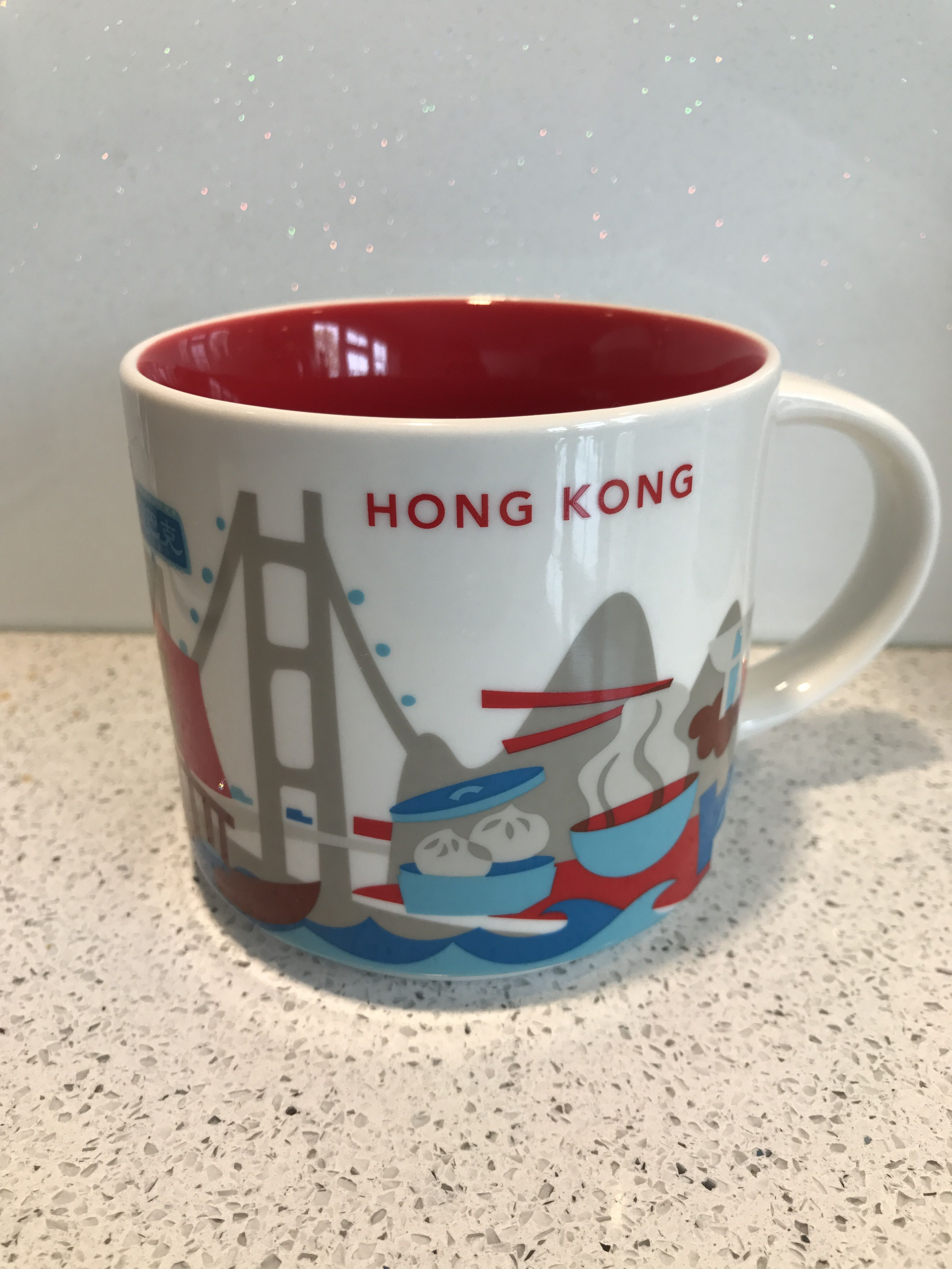 Hong Kong Starbucks YOU ARE HERE Collection Mug Mugs