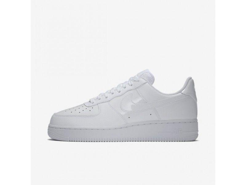 f9356adf Ventas baratas Nike Air Force 1 '07 Patent Blancas/Blancas Mujer PU195281