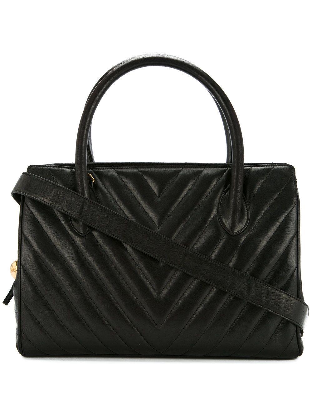 652dab943700 Chanel Vintage V Stitch Ball Charm 2way bag | handbags! | Vintage ...