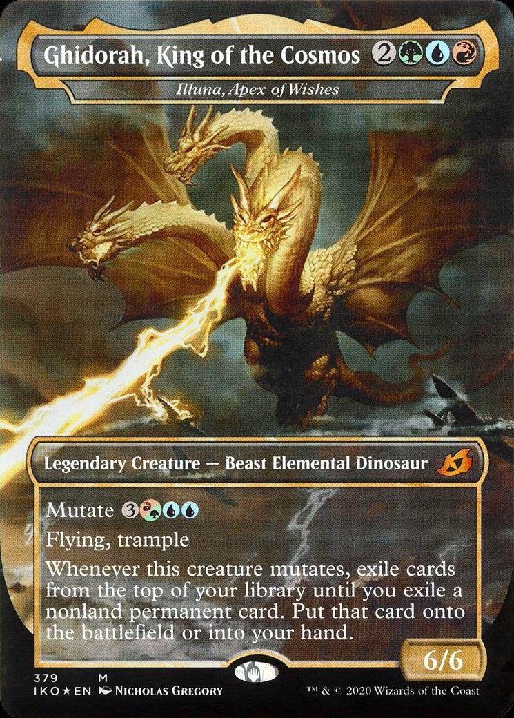 - Ikoria: Lair of Behemoths *TOP* Mythic APEX OF FOREVER *Magic MtG: BROKKOS