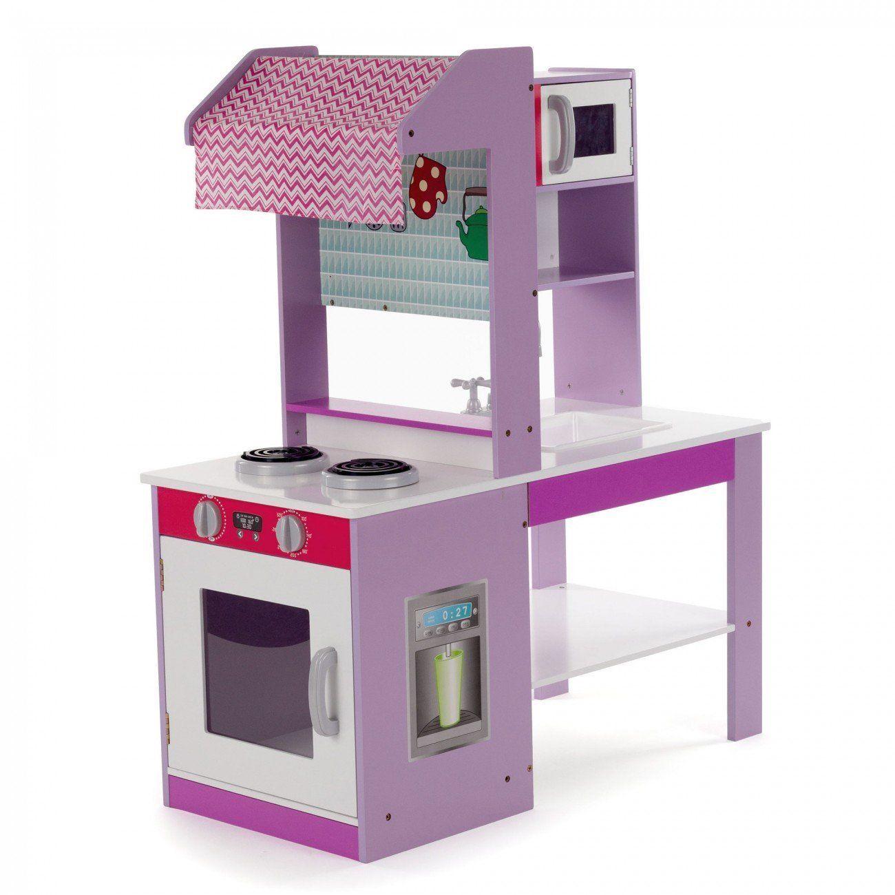 Kinderküche Spielküche aus Holz Kinderspielküche Küche Holzküche ...