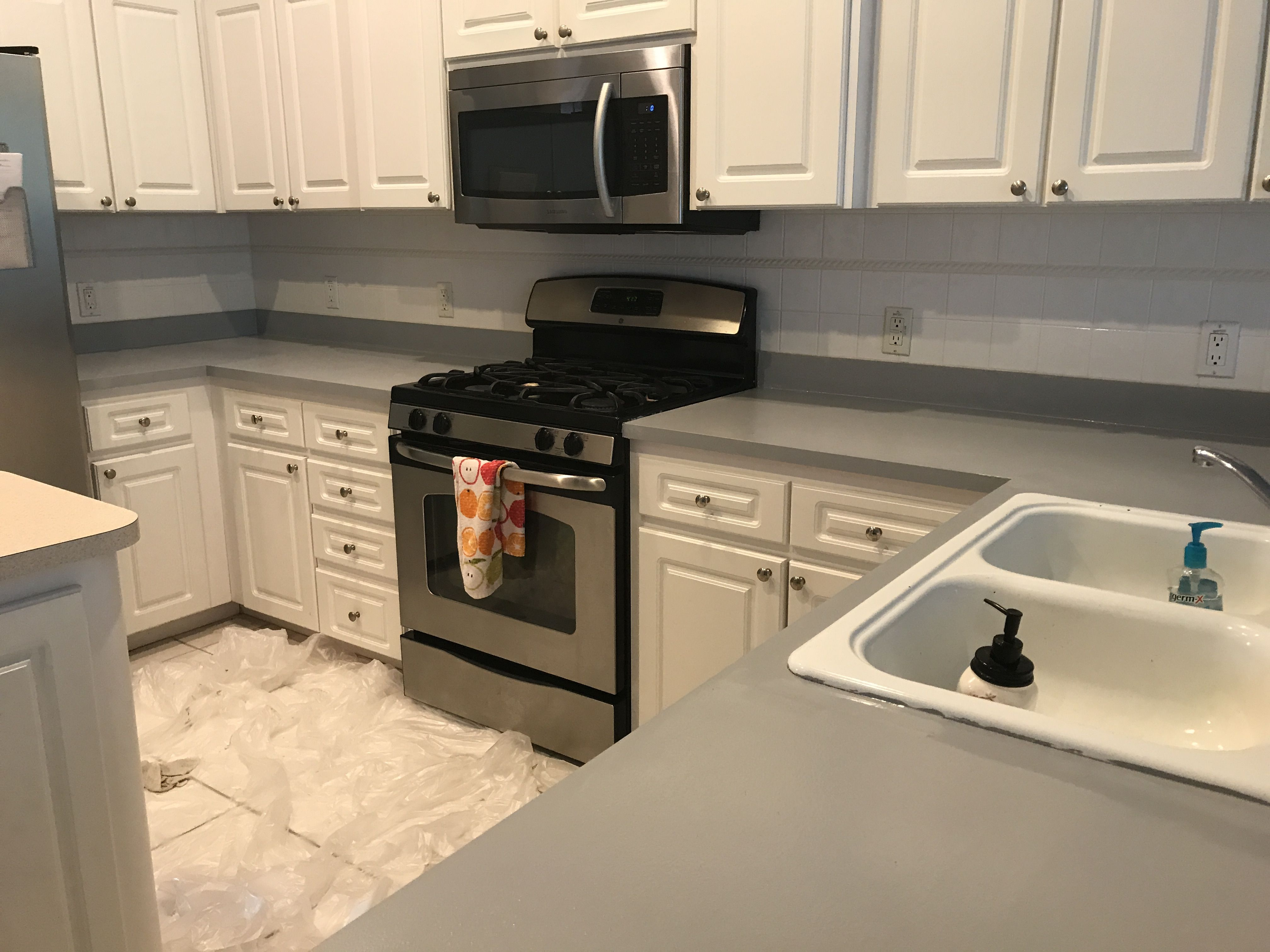 Pin on My Ugly Kitchen Counter Renovation