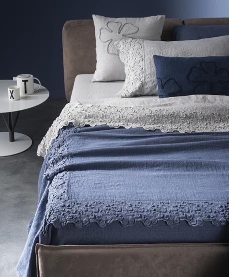 Linea letto collezione primula la fabbrica del lino bedroom - La fabbrica del lino letto ...