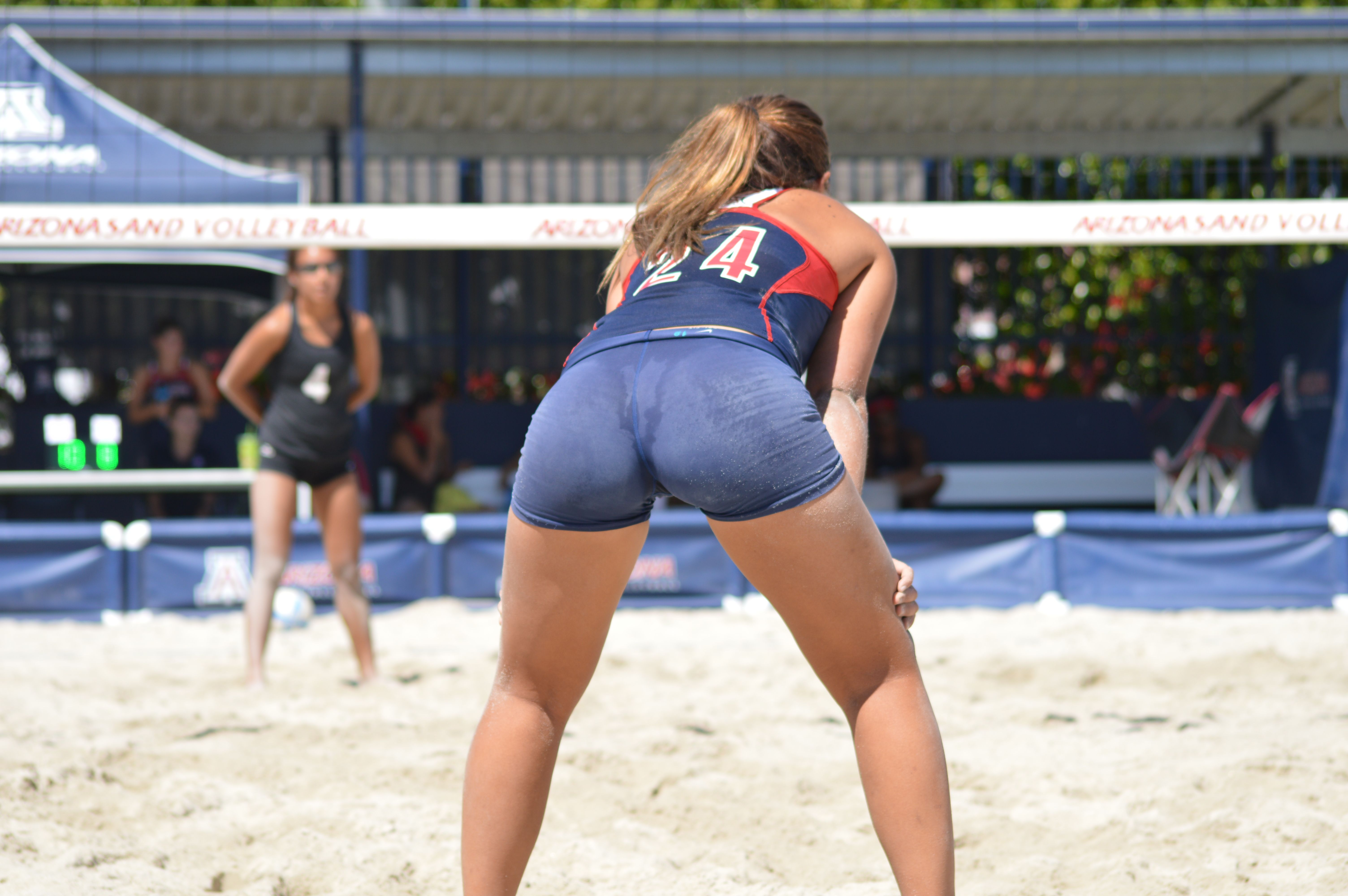 Ass ball booty butt spandex volley volleyball photo 859