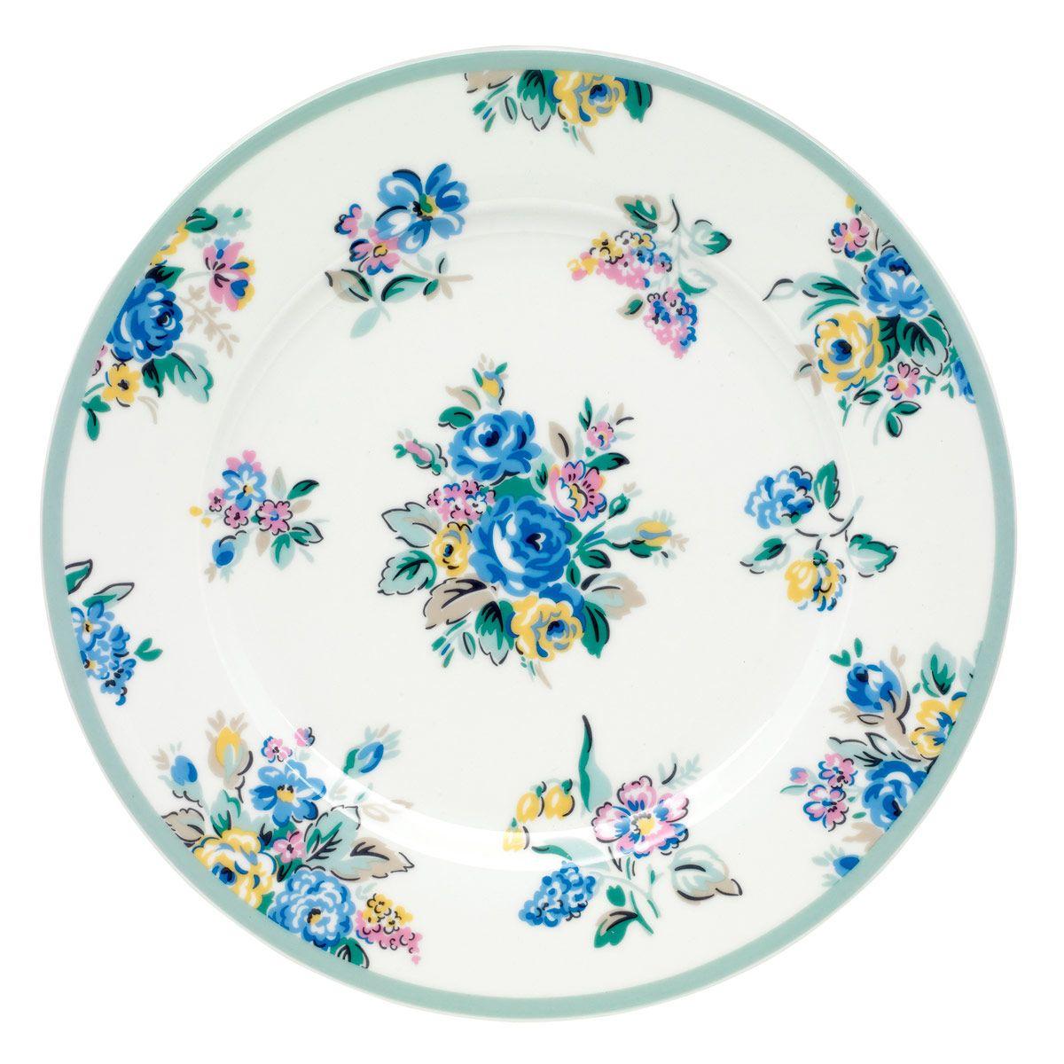 Highgate Rose Dessert Plate | Cooking and Dining | CathKidston  sc 1 st  Pinterest & Highgate Rose Dessert Plate | Cooking and Dining | CathKidston ...