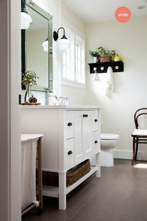 After: bathroom remodel by dee
