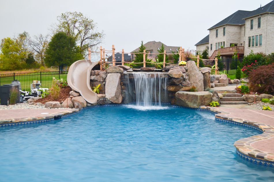 Pool Grottos Pool Pool Waterfall Custom Pools